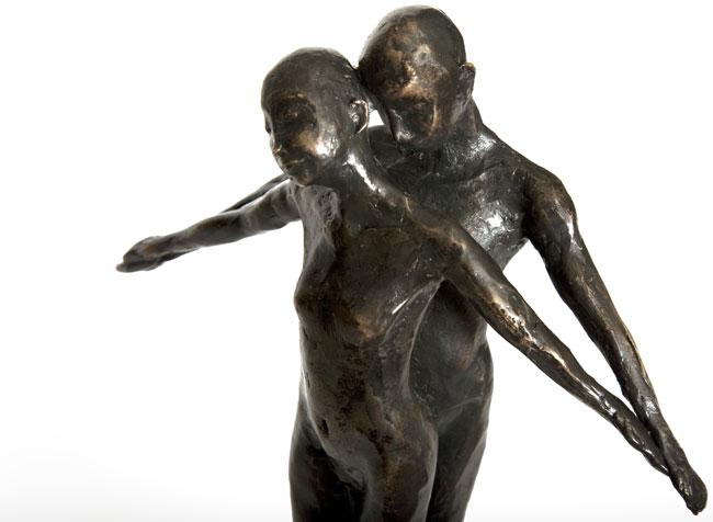 jubileum beeld brons
